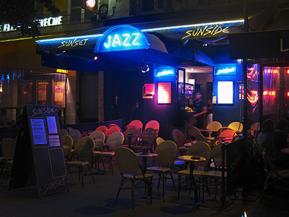 Exterior of the Sunset Sunside Jazz Club
