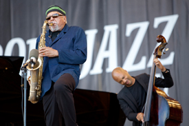 Charles Lloyd with Jason Moran, Reuben Rogers and Eric Harland