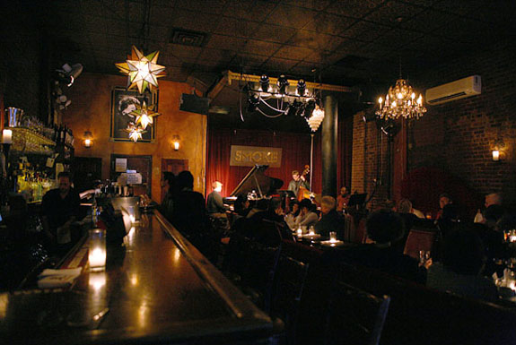 Interior of Smoke Bar