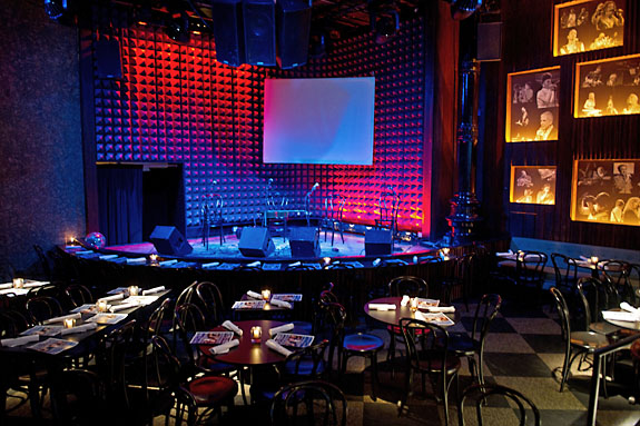Joe's Pub stage