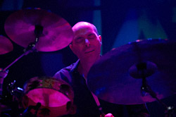 Asaf Sirkis on drums