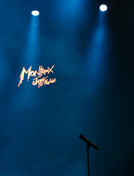 Stage shot at Montreux