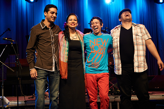 Edmar with his band