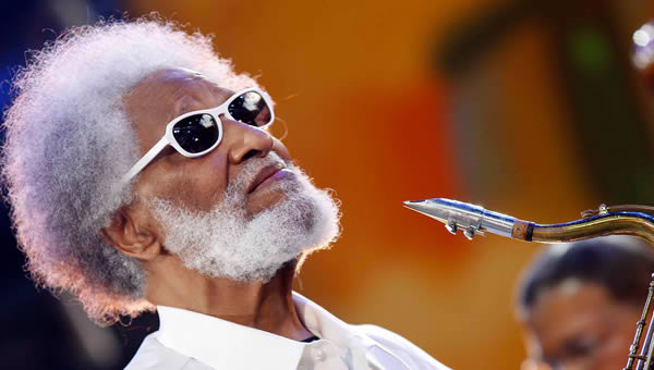 Sonny Rollins, winner of Best Saxophonist of the Year 2012
